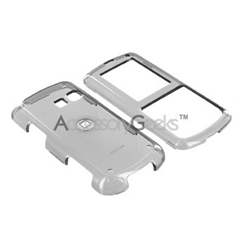 LG Banter AX265 Hard Case - Transparent Smoke