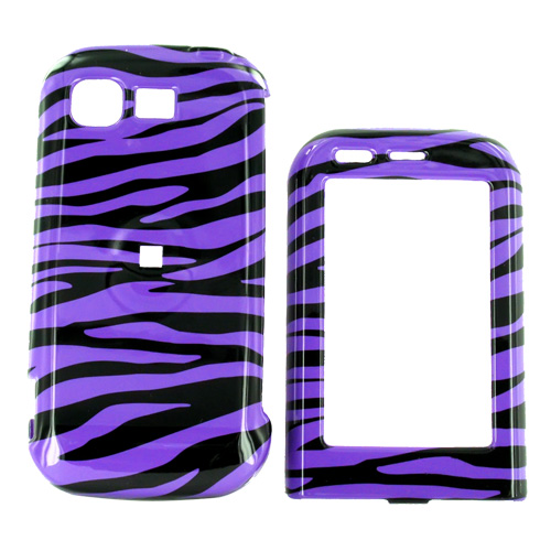 LG Tritan AX840 Hard Case - Purple Zebra