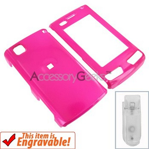 LG Incite Protective Hard Case - Hot Pink