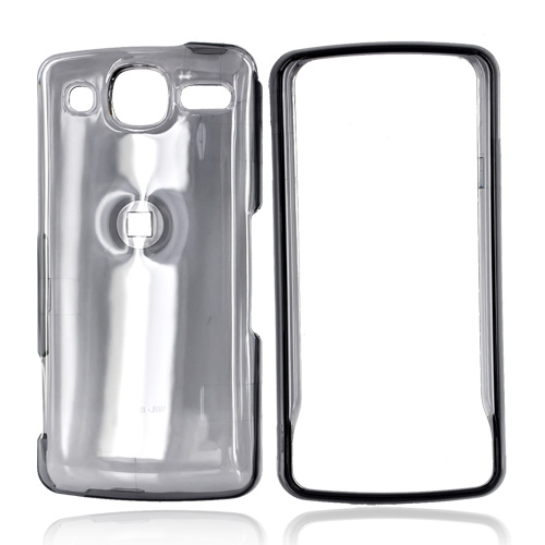 LG Expo GW820 Hard Case - Transparent Smoke