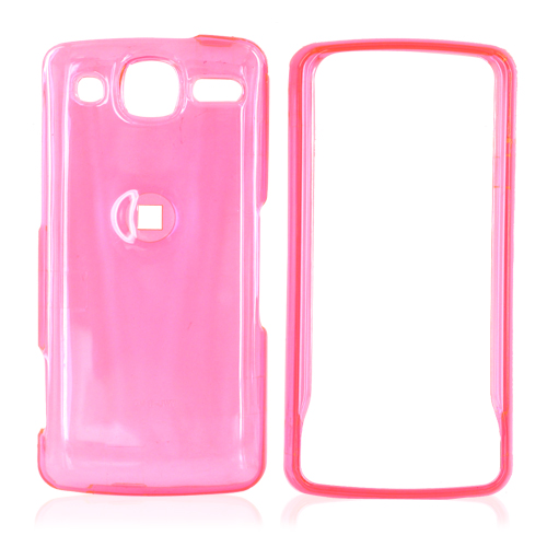 LG Expo GW820 Hard Case - Transparent Pink