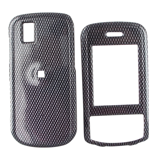 LG Shine II GD710 Hard Case - Carbon Fiber