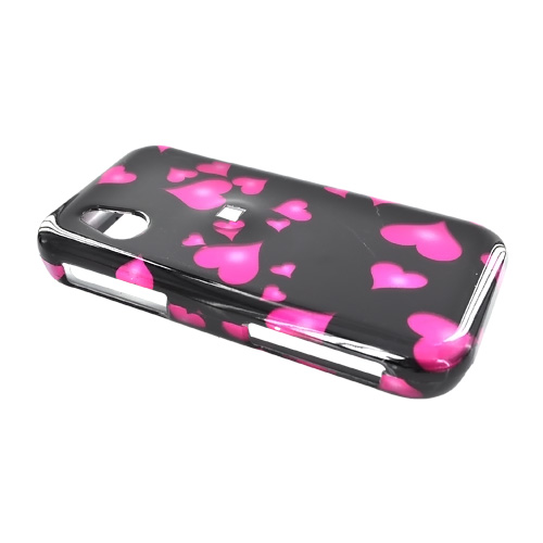 LG Arena GT950 Hard Case - Floating Hearts