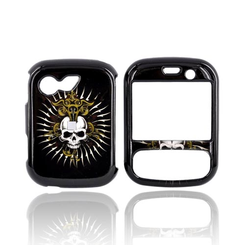 LG Remarq LN240 Hard Case - Cross Skull on Black