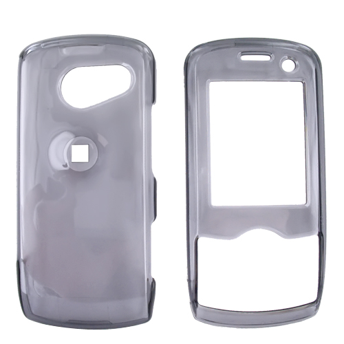 LG LX370 Hard Case - Transparent Smoke
