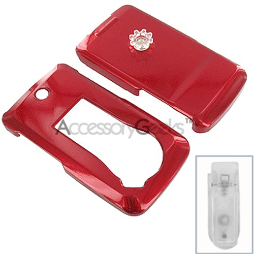 LG Muziq Hard Case - Red