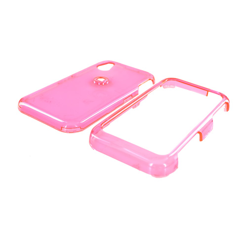 LG Opera TV Hard Case - Transparent Pink