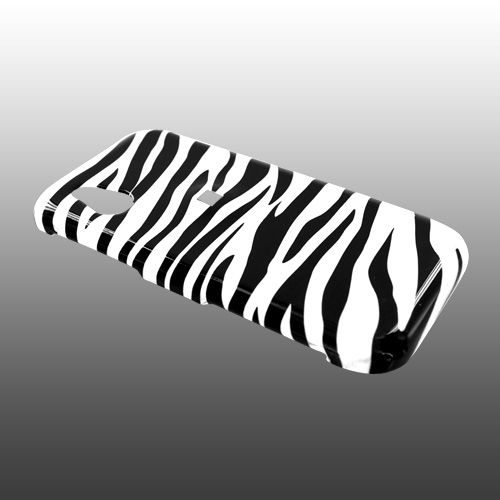 LG Opera TV Hard Case - White/Black Zebra