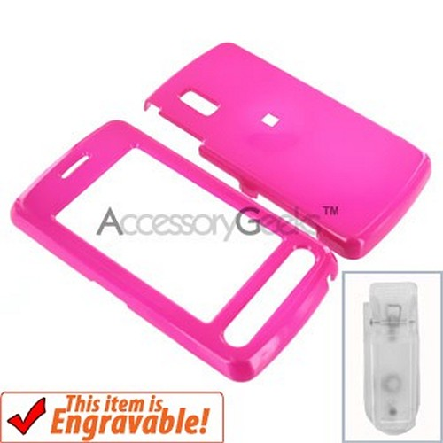 LG Vu Hard Case - Hot Pink