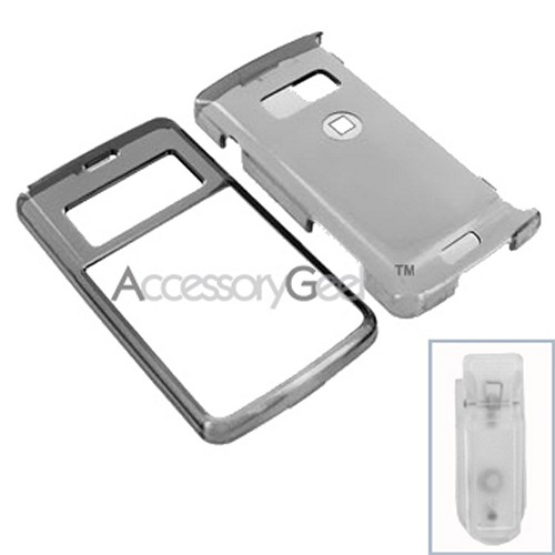 LG enV2 Hard Case - Transparent Smoke