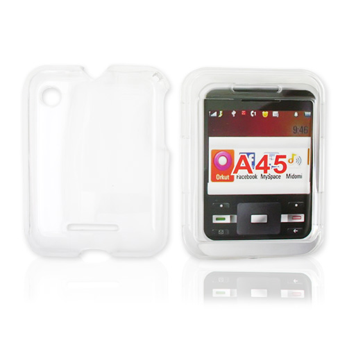 Motorola Murano A45 Hard Case - Transparent Clear