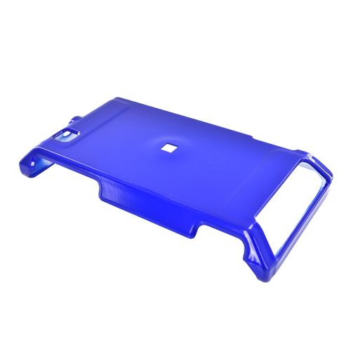 Motorola Devour A555 Hard Back Cover Case - Blue