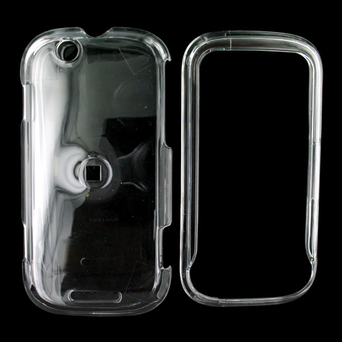Motorola CLIQ Hard Case - Transparent Clear