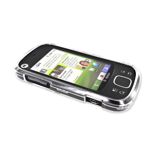 Motorola CLIQ XT Hard Case - Transparent Clear