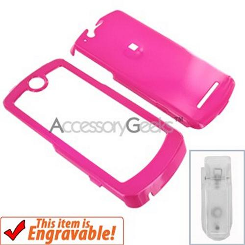 Motorola ROKR E8 Hard Case - Hot Pink