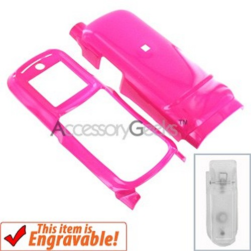 Motorola i365 Hard Case - Hot Pink