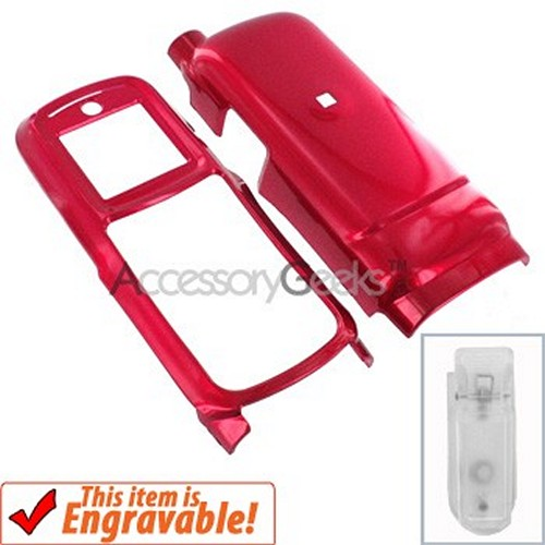Motorola i365 Hard Case - Red