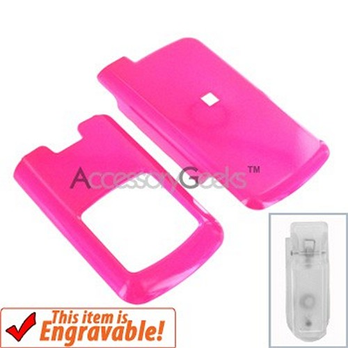 Motorola i776 Hard Case - Hot Pink