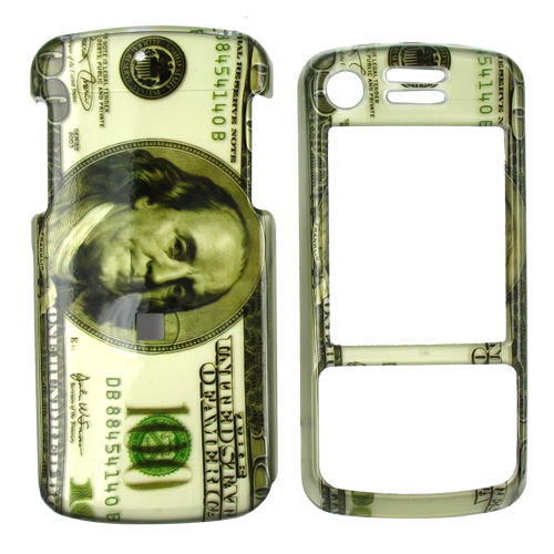 Motorola Debut i856 / Slider i856 Hard Case - 100 Dollar Bill