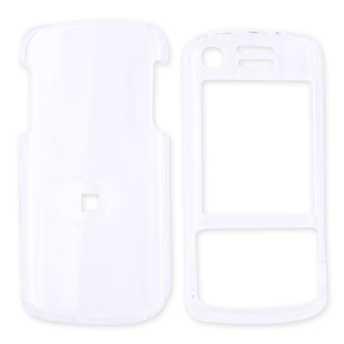 Motorola Debut i856 Hard Case - Transparent Clear