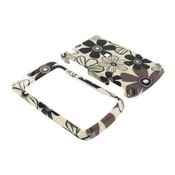 Motorola Stature i9 Hard Case - Floral on Beige