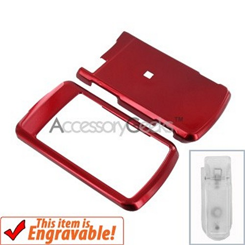 Motorola Stature i9 Hard Case - Red