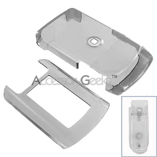 Motorola V950 Hard Case - Transparent Smoke