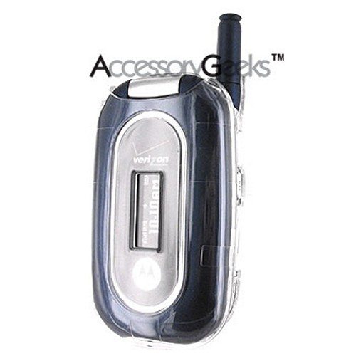 Motorola W315 Hard Case - Clear