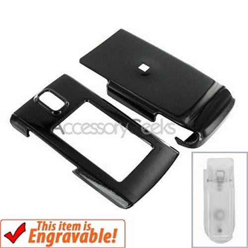 Nokia 6650 Hard Case - Black