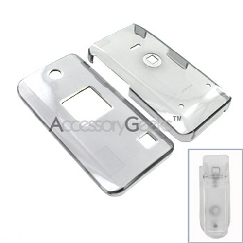 AT&T Pantech C610 Hard Case - Transparent Smoke