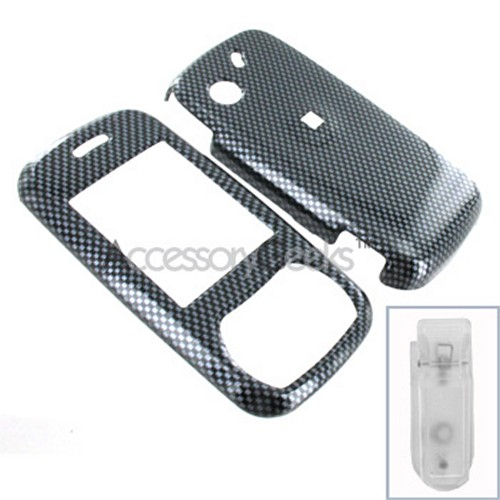 Pantech Matrix Hard Case - Carbon Fiber