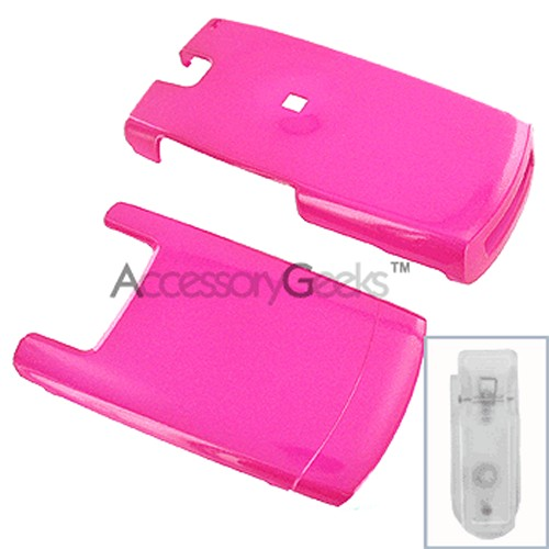 Samsung A717 Protective Hard Case - Hot Pink