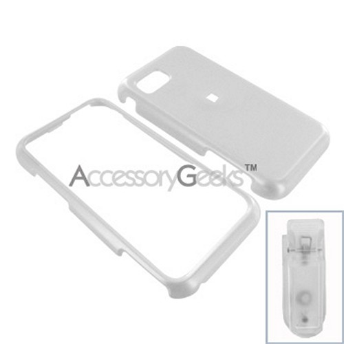 Samsung Eternity Hard Case - White