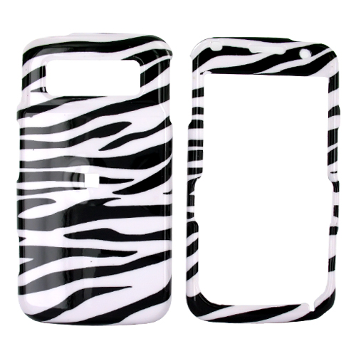 Samsung Code i220 Hard Case - White/Black Zebra