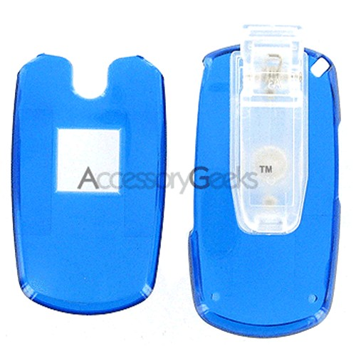 Samsung M300 Protective Hard Case - Transparent Blue