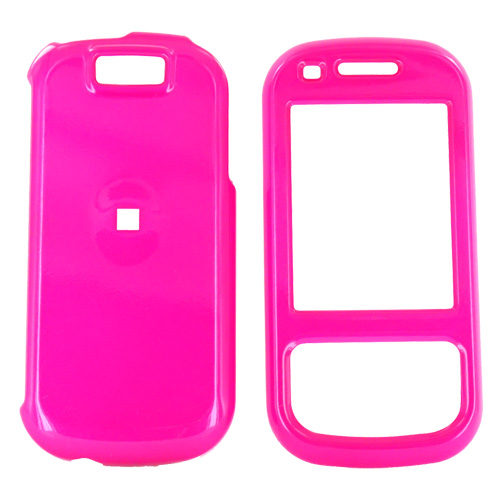 Samsung Exclaim M550 Hard Case - Hot Pink