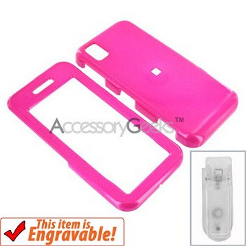 Samsung Instinct Hard Case - Hot Pink