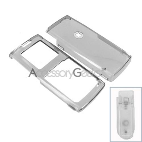 Samsung R211 Hard Case - Transparent Smoke