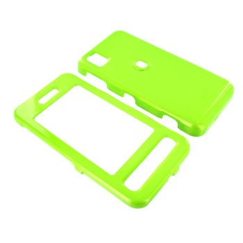 Samsung Finesse R810 Hard Case - Neon Green