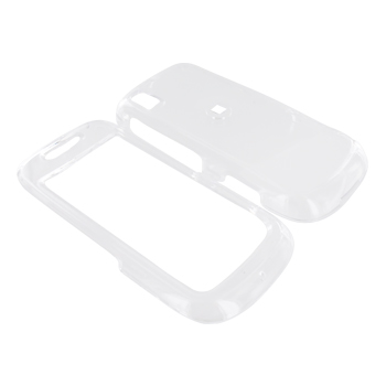 Samsung Instinct S30 Hard Case - Transparent Clear