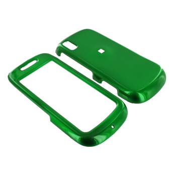 Samsung Instinct S30 Hard Case - Green