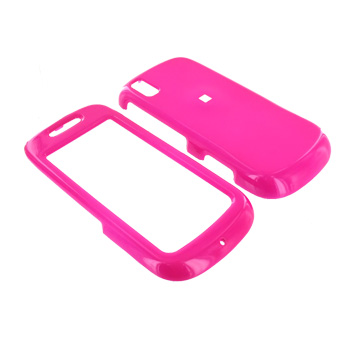 Samsung Instinct S30 Hard Case - Hot Pink