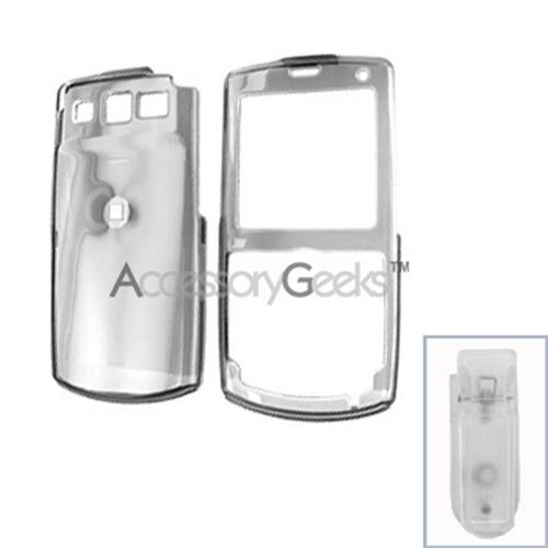 Samsung Saga Protective Hard Case - Transparent Smoke