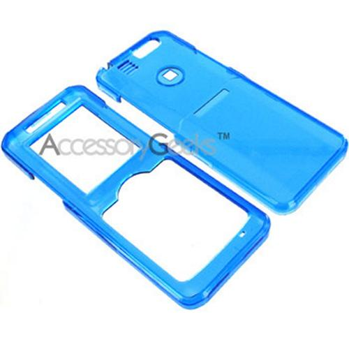 Samsung T509 Transparent Blue Hard Case