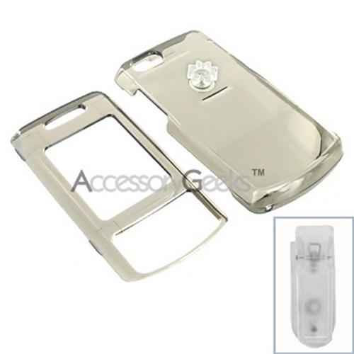Samsung T819 Hard Case - Transparent Smoke