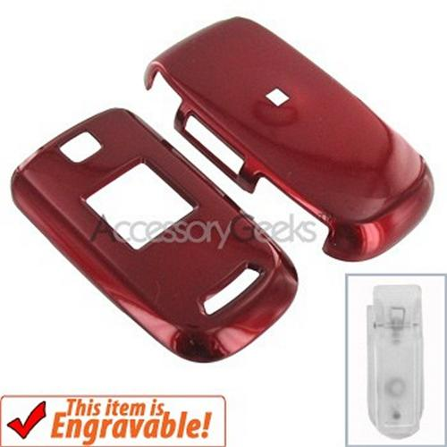 Samsung U430 Hard Case - Red