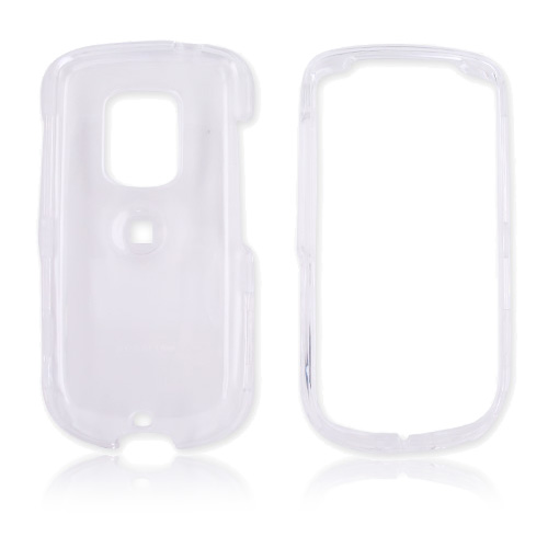 Sprint HTC Hero Hard Case - Transparent Clear