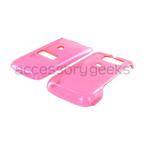 Sanyo SCP-3810 Hard Case - Transparent Pink