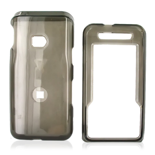 MetroPCS ZTE C70 Hard Case - Transparent Smoke