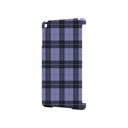 Scottish-Like Plaid in Purple - Geeks Designer Line Checker Series Hard Case for Apple iPad Mini